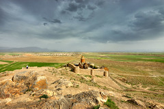 Khor Virap (Vincent Rowell) Tags: raw tonemapped armenia monastery church khorvirap southcaucasus2017 sigma816mm clouds photoshopped
