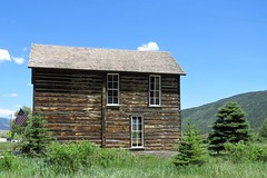 Visitor Center (Patricia Henschen) Tags: twinlakes colorado rural topoftherockies scenicbyway reservoir lake glacial mountain mountains sawatch range lakecounty sanisabelnationalforest backroads backroad museum visitorcenter historicdistrict