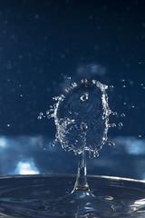 Water drop CRASH! (Yiani Kapetanakis) Tags: splash art splashart macro canonmacroringlitemr14exii canon7dmarkii canonef100mmmacroisusm canonspeedlite580exii