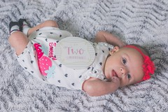 My healthy, BEAUTIFUL girl turned 2 months old! Love you to death Lily my silly gorgeous girl. (maxusiaa) Tags: daddysgirl mommiesgirl milestone 2monthsold beautifulbabygirl beautifulbaby beautifulgirl lovebug love liliana lily babygirl