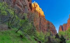 Zion National Park (mark.aizenberg) Tags: landscape utah canon sunset travel vacation outdoors mountains nature nationalpark zion