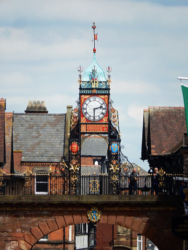 Eastgate Clock, 2017 Jul 03 -- photo 2