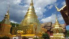 Wat Phra Singh, Chiang mai (Cleu Corbani) Tags: thailandia templos wat pagodas dorado elefante elephant cultura religiones lugares ensueño bellezas