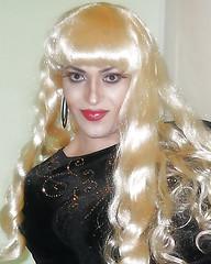 OMG, I LOVE it! (queen.catch) Tags: dragqueen blonde makeup crossdresser catch queen sissy femboy tranny genderplay glam feminization ladyboy