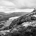 Reading - Connemara, Ireland - Black and white street photography