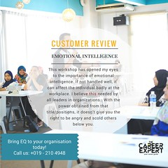 1 (nikfaiz.careercoach) Tags: emotionalintelligence eq motivator motivationtalk careerworkshop careercoachmalaysia