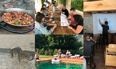 Work retreat in Girona (TypeTogether) Tags: typetogether wwwtypetogethercom workretreat girona spain team
