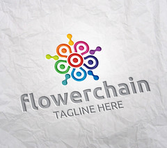 FlowerChain1 (Acongraphic) Tags: technology vector swirl team tech brand development care cross symbol spiral data bridge circle developer browser software upgrade dot abstract connection blossom web flower chain fast cooperation people spin integrate