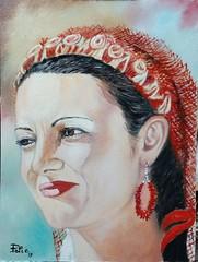 Mignona de l'Alguer. (Donna di Alghero) (cicipeis) Tags: cicipeisart sardegnatradizionale sardegnaquasiuncontinente sardiniantraditionalcostumes bellezza algherese