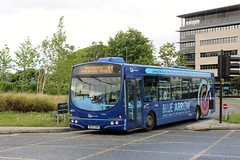 Go North East: 4974 / NK53 UOA (Northern Transport Photos) Tags: nk53uoa nebuses gonortheast gonorthern goahead goaheadnortheast teamvalley bluearrow scaniawrightsolar