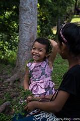 Khmer Princess (penny-blog.com) Tags: people asian cambodia angkor smile children girl pink