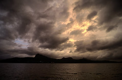 Monsoon is coming (_Amritash_) Tags: pavana water mountains clouds monsoon premonsoon weather pune maharashtra landscape stormclouds travel india