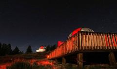 BothScopes1 (Wolfram Burner) Tags: uoregon uofo uo universityoforegon pmo pine mountain observatory astronomy dome telescope wolfram burner