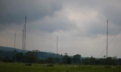 More fine lines...HTT (Kez West) Tags: woofferton masts wires cables htt telegraphtuesday ludlow transmittingstation shortwave shropshire bbcworldservice radiomasts aerials
