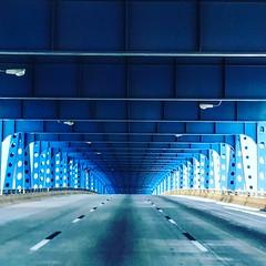 Under the bridge! Philadelphia (saadia_khans) Tags: instagramapp square squareformat iphoneography uploaded:by=instagram clarendon