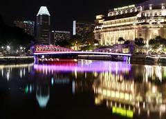 Fullertron Reflection (Saby.Dutta) Tags: fullertronhotel boatquay singaporeriver singapore
