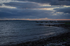 Late evening in Hittarp (frankmh) Tags: landscape sky cloud hittarp helsingborg skåne sweden outdoor coast sea