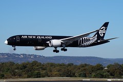 ZK-NZE Air New Zealand Boeing B787-9 Dreamliner (johnedmond) Tags: perth ypph australia boeing b787 787 dreamliner allblack newzealand aviation aircraft aeroplane airplane sel55210 55210mm sony ilce3500