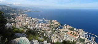 Panorama - Monaco from Tete de Chien