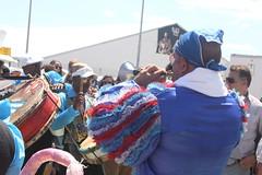 Conga Los Hoyos (2017) 14 - Parade (KM's Live Music shots) Tags: worldmusic cuba congasantiaguera congaloshoyos cornetachina suona neworleansjazzheritagefestival fairgroundsracecourseneworleans