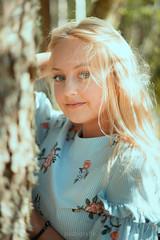 Portrait Shoot with Jacky (padografie) Tags: alpha7 portrait sony fe50mm f18 sonyalpha blackforest mummelsee beauty datlight blueeyes blonde