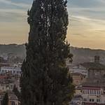 Pincio hill view panorama thumbnail