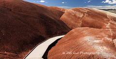 Painted Hills in the John Day Fossil Beds National Monument, Oregon (PhotoDG) Tags: oregon paintedhills johndayfossilbeds nationalmonument nationalpark landscape nature color