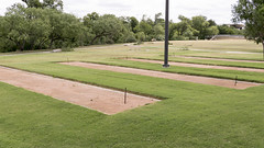 Horseshoe Pits at Kerby Park - San Angelo, TX (joncutrer) Tags: park sanangelo playground outdoors texas games horseshoes