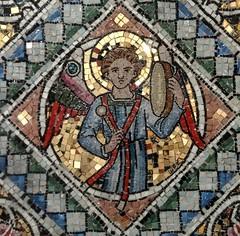 [51470] Holton Beckering : Reredos (Budby) Tags: holtoncumbeckering lincolnshire church altar reredos mosaic westlindseychurchesfestival