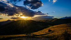 Rocca Calscio (Andrea Lanzilli) Tags: rocca calascio abruzzo italy andrea lanzilli fuji fujifilm xpro2 xf16mmf14 landscape sun clouds sunset june summer 2017 sky
