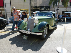 1936 Mercedes-Benz 290 Cabriolet A (lucre101) Tags: cars show rodeo drive los angeles california fathers day beverly hills 1936 mercedesbenz 290 cabriolet a onlyonrodeo