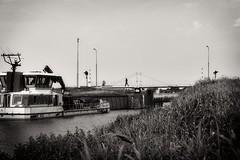 DSC00437 copy (lo.tra) Tags: reitdiep bridge people workboat groningen netherlands lotra