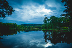 St. Croix river in summer (michaelraleigh) Tags: landscape f28l serene highquality reflection 2035mm canon statepark clouds morning summer green beautiful trees infocus secluded williamobrien outdoors park canoneos5dmarkii blackandwhite dark minnesota