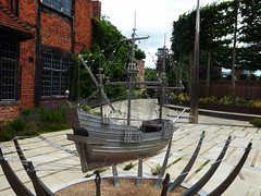 Rupert Todd and Ben Ryan, The King's Ship (jacquemart) Tags: newhouse stratforduponavon sculpture shakespeare shakespearebirthplacetrust chapelstreet ruperttoddandbenryan thekingsship newplace