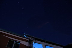 Night sky with Him (SimonHorváth) Tags: night sky nightsky stars deepspace