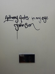 Anthony Ants in My Eyes Johnson (mikecogh) Tags: commercial meme weird odd text antsinmyeyesjohnson humour humor script cursive handwriting