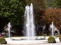 Bad Ischl Kurpark P1090056 (martinfritzlar) Tags: badischl kurpark salzkammergut oberösterreich österreich alpen park kurort brunnen upperaustria austria alps spatown fountain