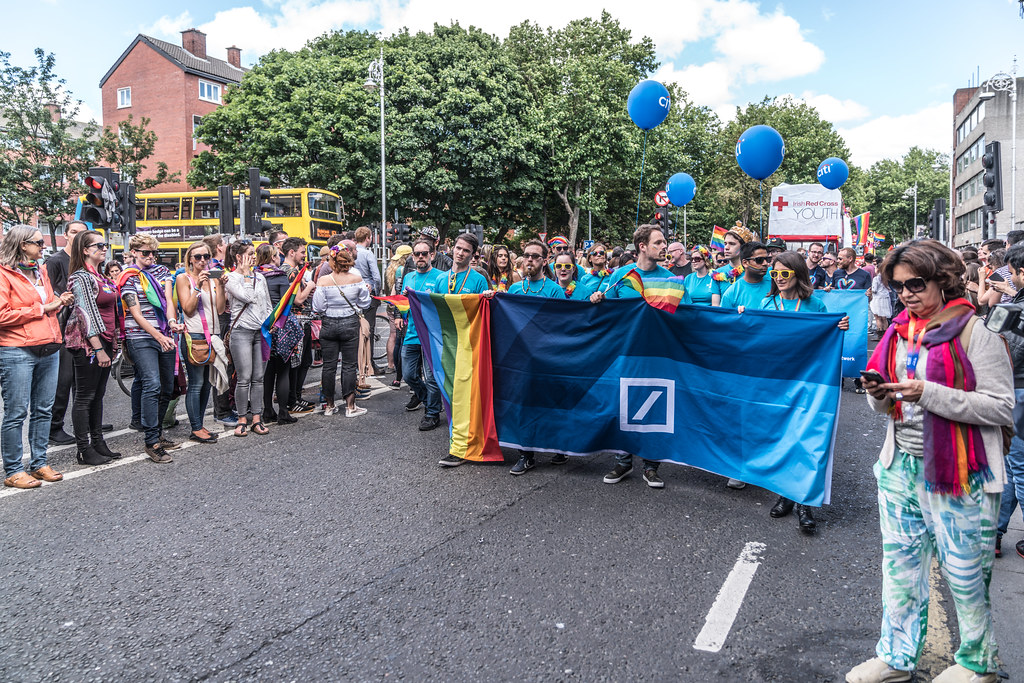 LGBTQ+ PRIDE PARADE 2017 [ON THE WAY FROM STEPHENS GREEN TO SMITHFIELD]-130166