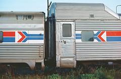 Amtrak Transition Dormitory 9990 (Chuck Zeiler) Tags: amtrak 9990 railroad transition dormitory baggage pullmanstandard chuckzeiler chz
