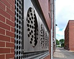 SHEFF 1706252570 (Harry Halibut) Tags: 2017©andrewpettigrew allrightsreserved imagesofsheffield images sheffieldarchitecture sheffieldbuildings sheffieldcurvedcorners colourbysoftwarelaziness south yorkshire publicartinsheffield public art streetart graffiti murals curved corners