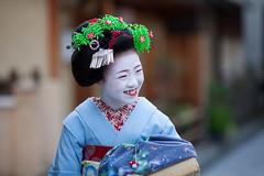 Portrait (walkkyoto) Tags: 宮川町 miyagawacho 舞妓 maiko 芸妓 geiko 京都 kyoto 日本 japan ef135mmf2lusm
