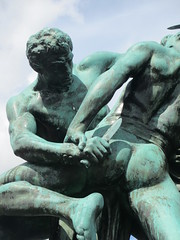 Detail, Bältespännarna sculpture, Gothenburg, Sweden (Paul McClure DC) Tags: gothenburg sweden sverige july2015 göteborg sculpture historic