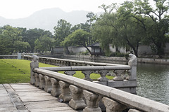 Gyeongbokgung Palace 경복궁 / 景福宮 (Patrick Vierthaler) Tags: 경복궁 景福宮 경회루 慶會樓 seoul south korea joseon dynasty grand palace palaces 5 soul südkorea palast paläste dynastie early summer sommer world heritage welterbe