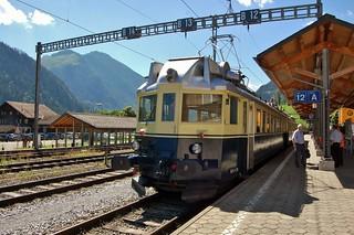 Switzerland - The Blue Arrow