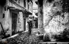 Chaouen B&W (iperezmarin) Tags: chaouen marruecos blancoynegro fotografia canon cultura mujer calles viaje taller curso monocromo