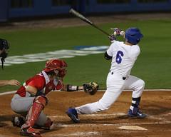 Jonathan India RBI Single (dbadair) Tags: florida gators uf university sec baseball ncaa regionals gainesville 2017 college world series winners first national title omaha
