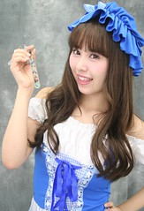 The Key (emotiroi auranaut) Tags: girl woman lady cute sweet fetching attractive lovely adorable female feminine feminnity bonnet face dress key hand holds hold holding song music japan japanese asia asian sheep littlebopeep