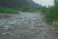 Yamame river DSC_3588 (touhenboku) Tags: stream river yamame torout fly fishing flyfishing rain
