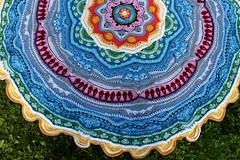 2017.06.25. part 16 3137m (villanne123) Tags: 2017 progressing mandala mandalamadness crochet crocheting crochetmandala villanne virkattua virkattu virkattumandala schachenmayrwool125