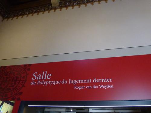 Hôtel-Dieu de Beaune - Salle du Polyptyque de Jugement dernier